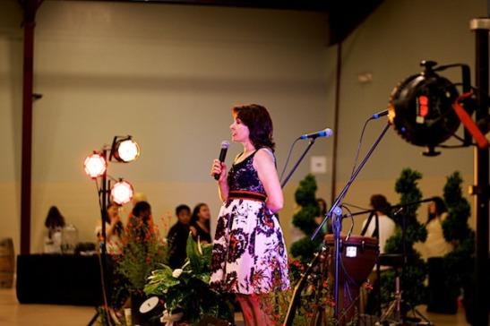 Tammy Wilson at an Evening Under the Oaks 2014 (c) Peter Zaayer