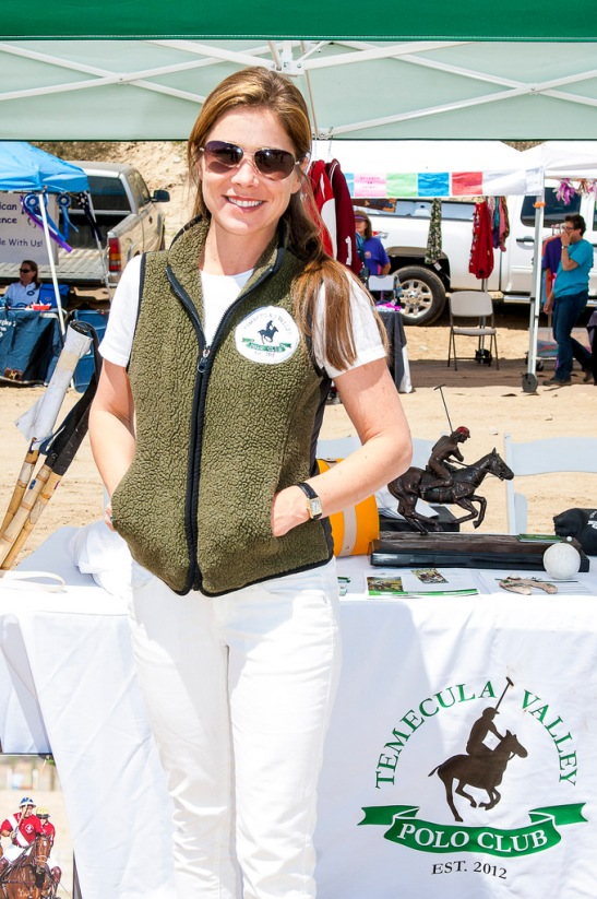 Geraldine Strunsky of Temecula Valley Polo Club at Horses to Hoof, II (c) Crispin Courtenay