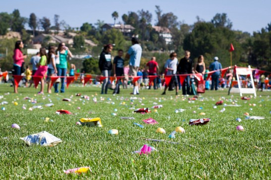 Temeku Hills Park celebrates Easter Egg Hunt (c) Crispin Courtenay
