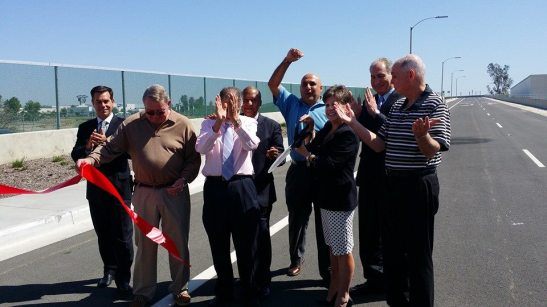 It's open! ribbon cutting ceremony officially opens the French Valley Interchange off I-15 Southbound through Temecula, Murrieta