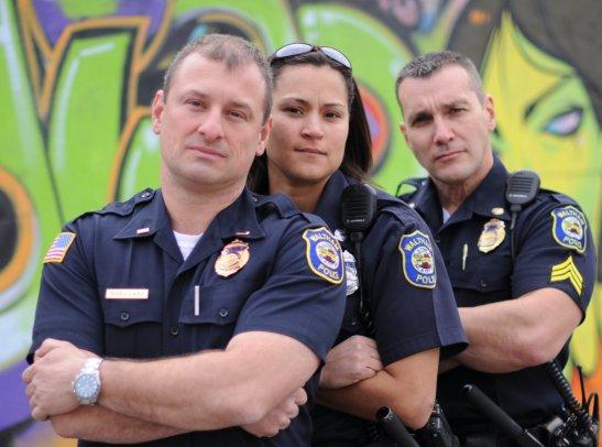 "Expedition Impossibles ""Cop Team"" -- Jim Vaglica (r)"