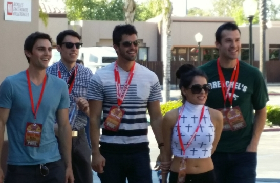 Reality Rally stars arrive for the event in Temecula, 2014