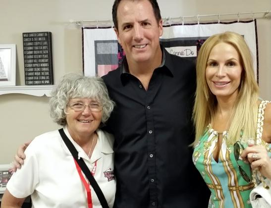 Gillian Larson, Lance Zeno, Peggy Tanous at 2014 Reality Rally Media Event