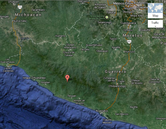 7.5 Magnitude earthquake strikes near Mexico City, Acapulco April 18, 2014