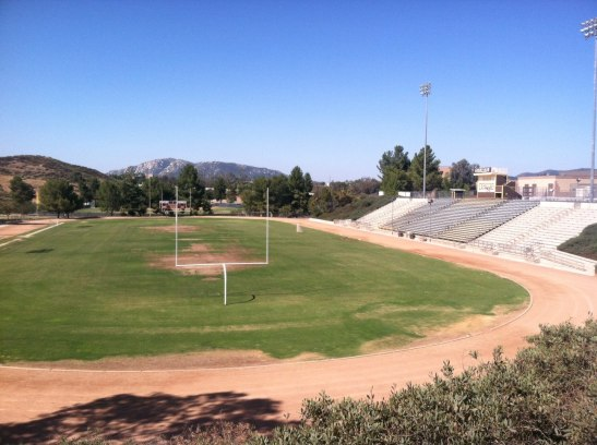 Out with the old, in with the new, Temecula High School Golden Bears Stadium is getting a do-over.