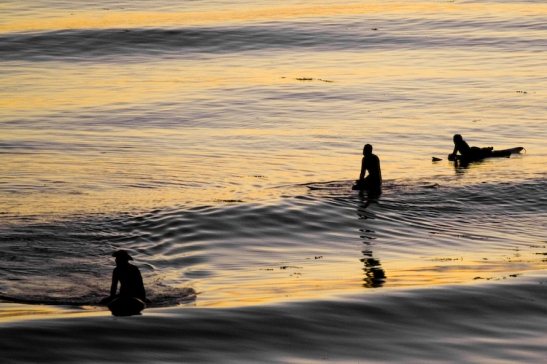 Surfers near Isla Vista, California (c) MCLAURIN via Flickr