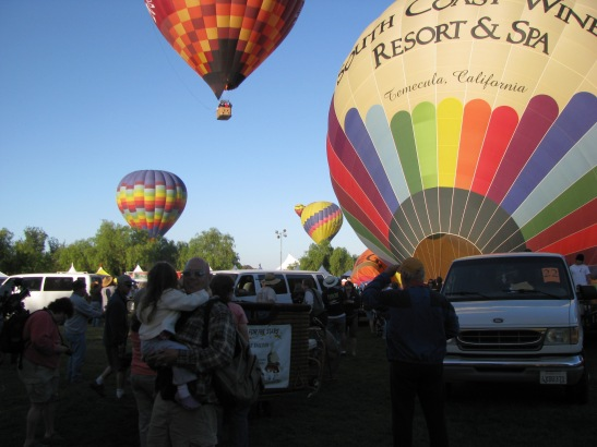Temecula Valley Balloon and Wine Festival Launch