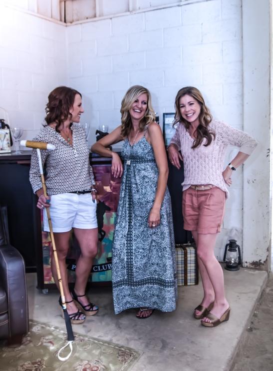l. Heather Vail, Niki Cronin, Geraldine Strunsky  (c) Shawna Sarnowski