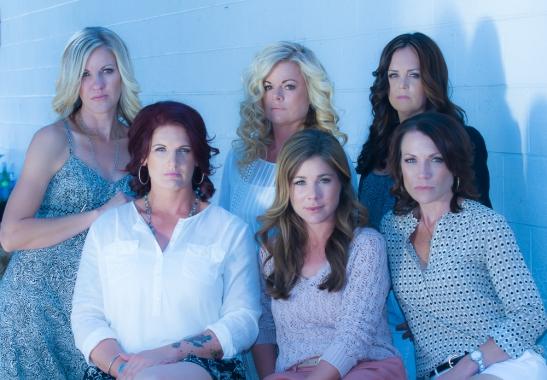 l. (back row) Niki Cronin, Marilyn Tipps, Carrie Peltzer  l. (front row) Lea Roberts, Geraldine Strunsky, Heather Vail (c) Shawna Sarnowski