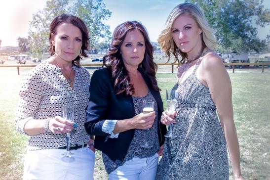 l. Heather Vail, Carrie Peltzer, Niki Cronin (c) Shawna Sarnowski