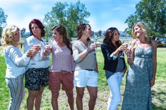 l. Marilyn Tipps, Lea Roberts, Geraldine Strunsky, Heather Vail, Carrie Peltzer, Niki Cronin (c) Shawna Sarnowski