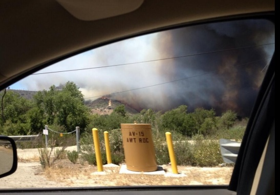 On the way out of Camp Pendleton (c) Aaron Balderson