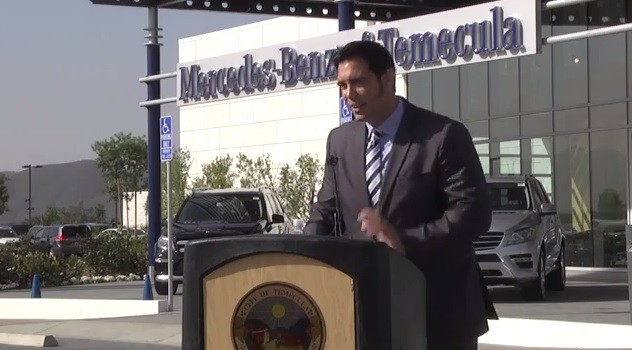 Mercedes benz dealership opens in temecula a red letter for Mercedes benz of chandler staff