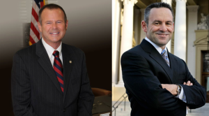 Election 2014: Sheriff Stan Sniff (left) and Lt. Chad Bianco (right). Photos/Facebook