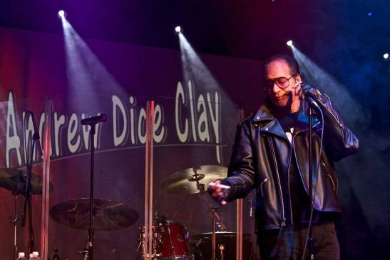 Andrew Dice Clay performs at The Cave, Big Bear, in 2014